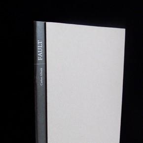 'Fault', un libro lleno de espacios intersticiales