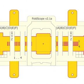 Gracias a la técnica de Origami se puede conseguir un microscopio