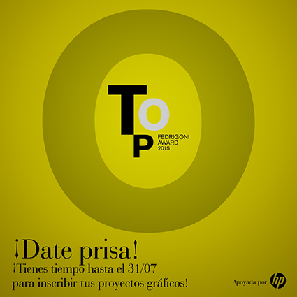 TOP AWARD, HASTA EL 31 DE JULIO