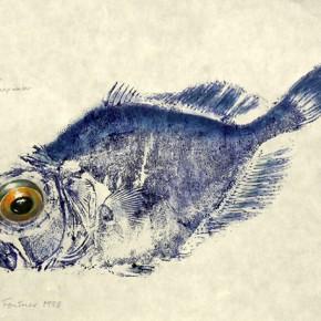 ¿Conoces la técnica de impresión Gyotaku?