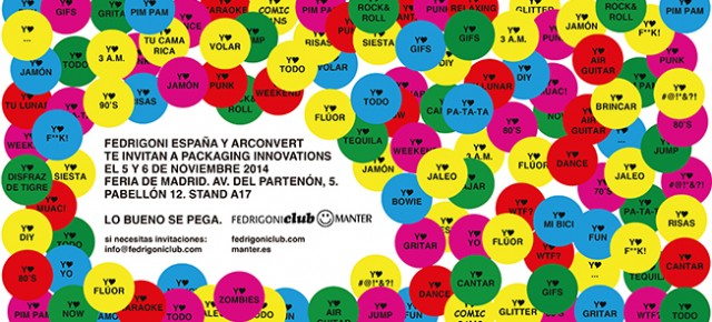 Fedrigoni España y Manter en Packaging Innovations Madrid 2014