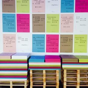 Pregunta al experto: «¿Qué papel se utilizó en la inauguración de la Design Week de Barcelona?»