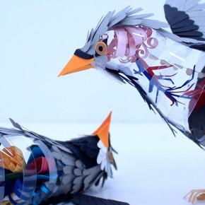 La anatomía de las aves-cyborg de Diana Beltrán