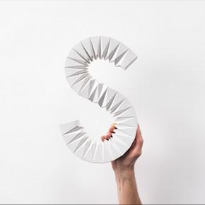 Una gran S de origami para el buen diseño sueco