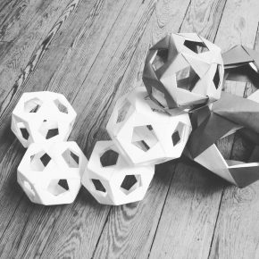Kusudama, el arte de doblar y ensamblar