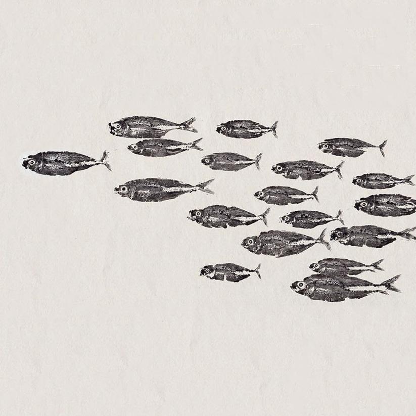 Gyotaku, el DNI de los peces