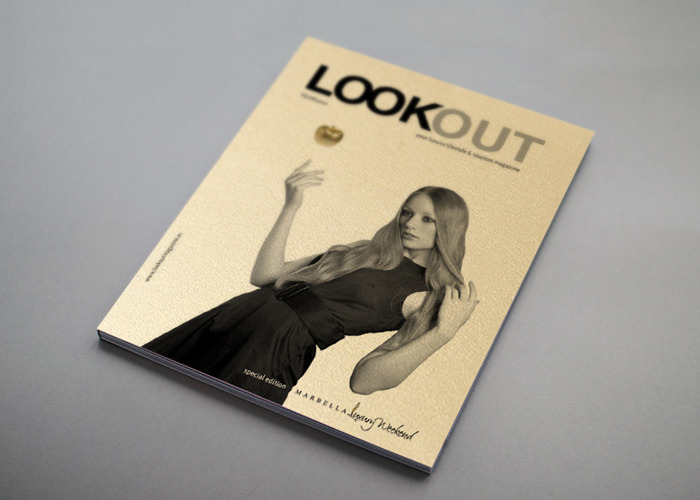 Una revista de lujo con Sirio Pearl Aurum