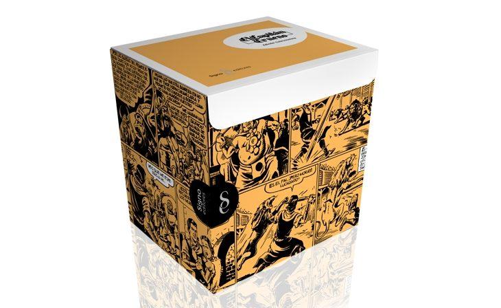 'El Capitán Trueno, edición coleccionista' en papel X-Per de Fedrigoni'O Capitão Trovão, Edição Coleccionador' em papel Fedrigoni X-Per