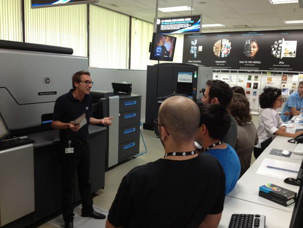 Todas las novedades de la impresión digital en la Demo Workshop HP y Fedrigoni
