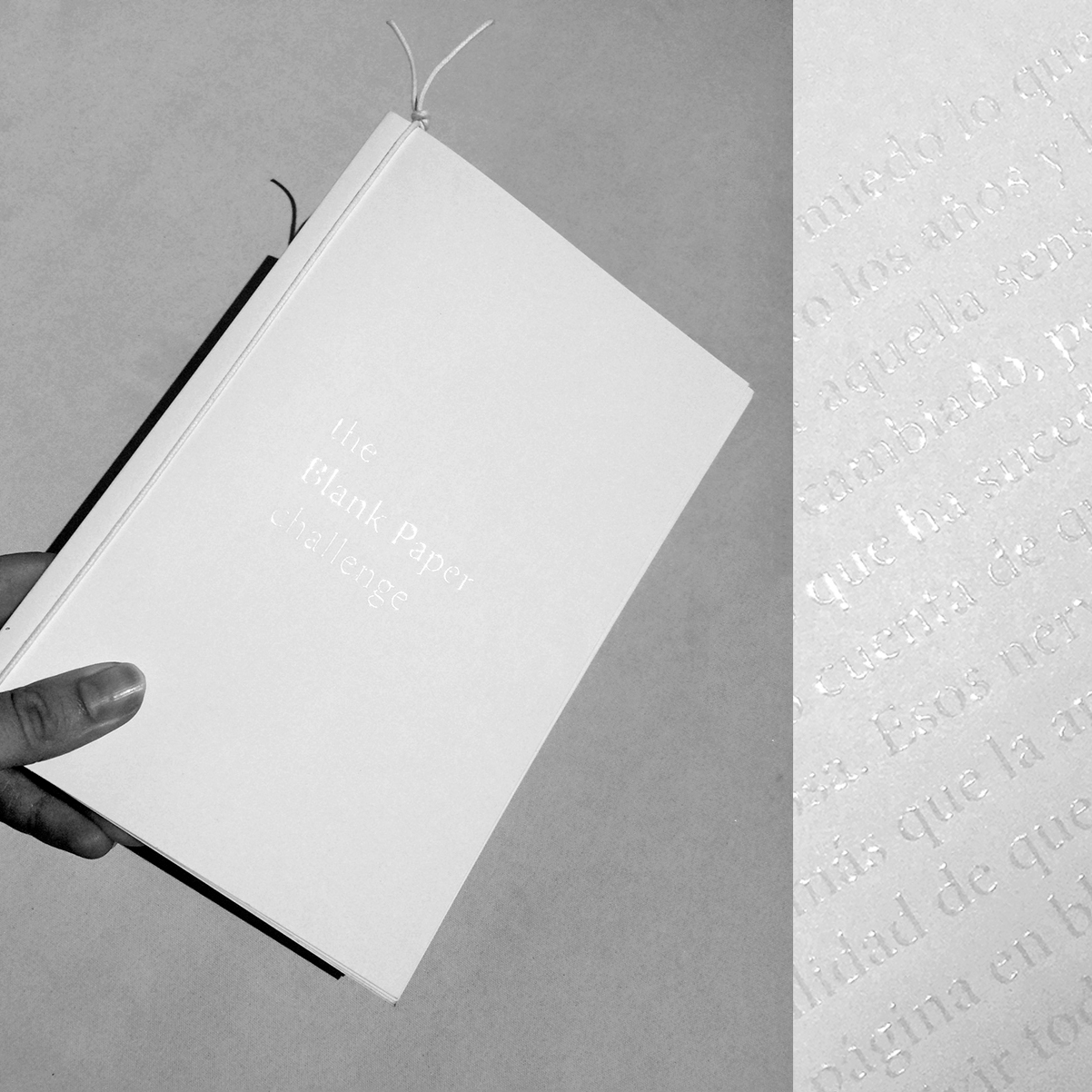 Participa y gana una libreta exclusiva de The Blank Paper Challenge