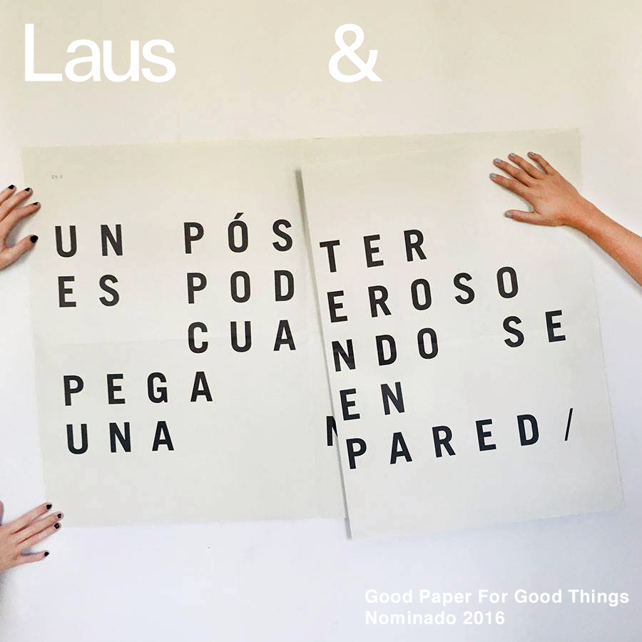 La campaña Good Paper For Good Things nominada a los Premios Laus