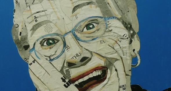 La pintura solo es un accesorio en 'Almas de papel'