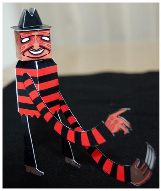 Hasta los papertoys se disfrazan para Halloween