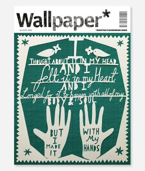 Nuevo desafío de Fedrigoni y Wallpaper* a los creadores para diseñar un número especial hecho a mano