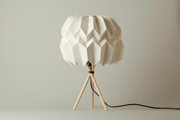 Kevin Pfaff y sus lámparas de papel
