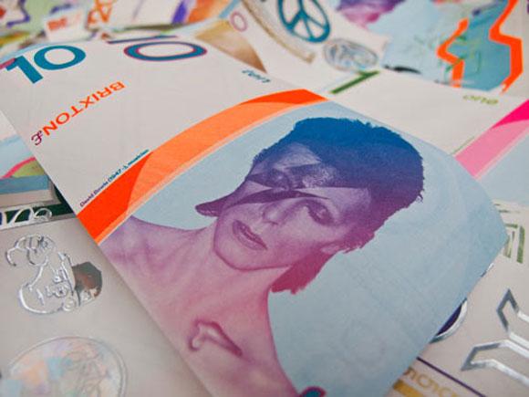 Los Billetes de Brixton Tienen La Cara De Bowie. Oh My GOOD!