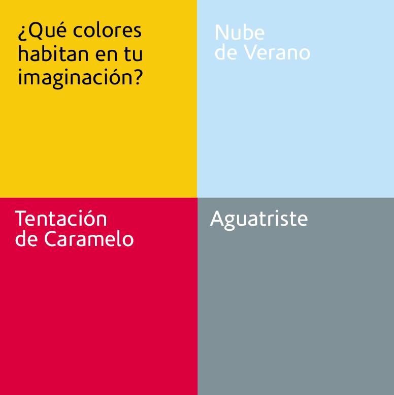 ¿Qué colores habitan en tu imaginación? Que cores habitam a sua imaginação?