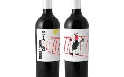 Etiquetas de vino solidarias