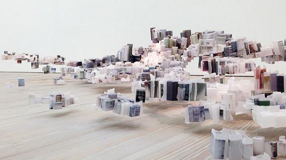 ¿Una ciudad flotante de papel?