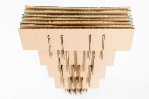 El packaging de HP que se convierte en mesa de trabajo
