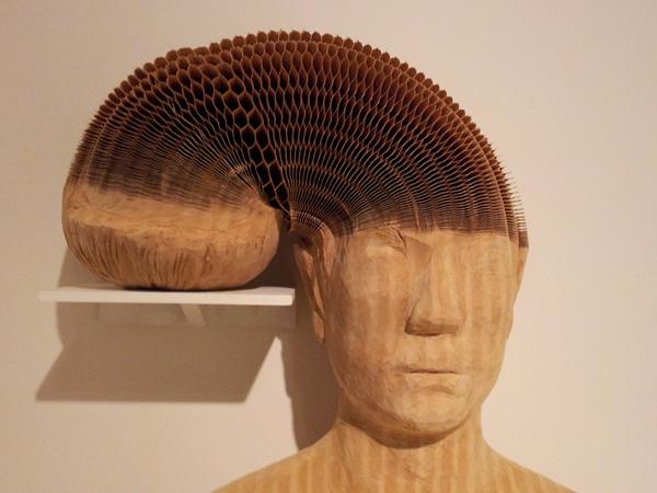 Esculturas flexibles de papel