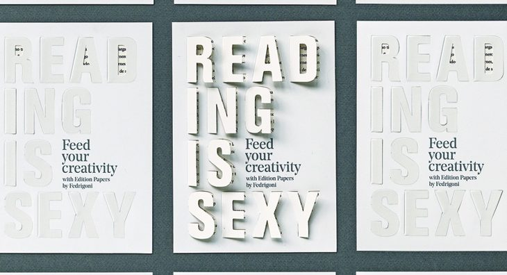 Los Edition Papers de Fedrigoni lo tienen claro: Reading is Sexy!