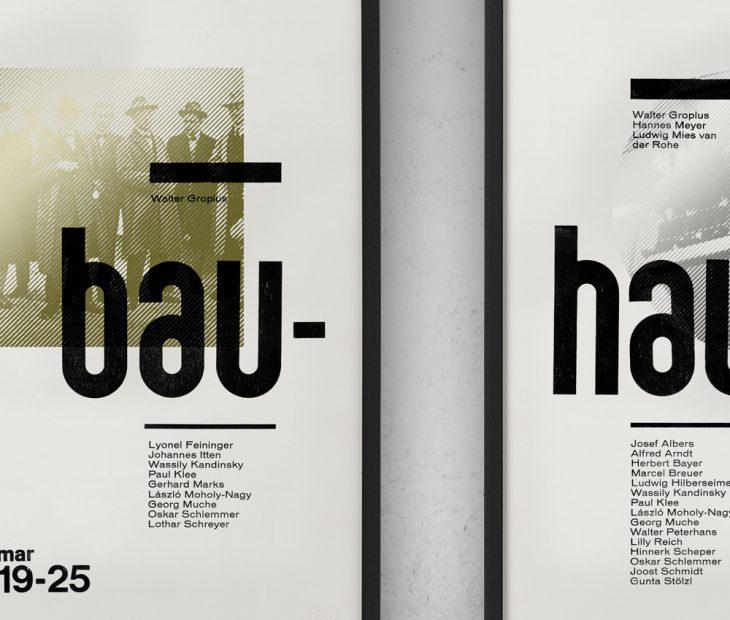 Un tributo a la Bauhaus