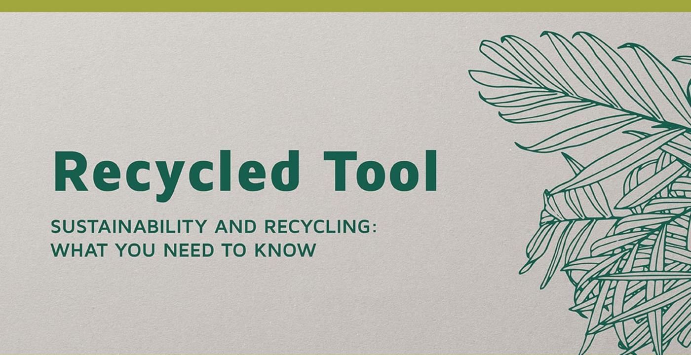 Ready to go eco? Os lo ponemos fácil con nuestra 'Recycled Tool'!