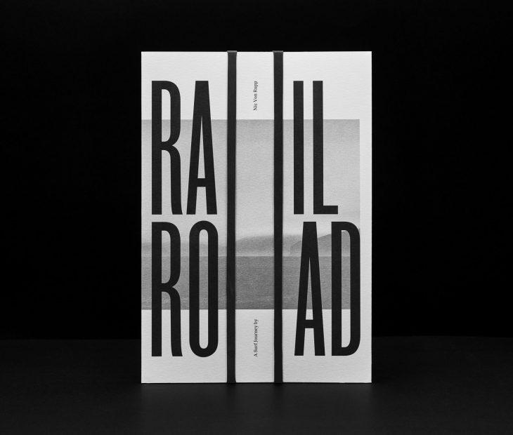 'RailRoad', un libro con olor a mar, olas y surf