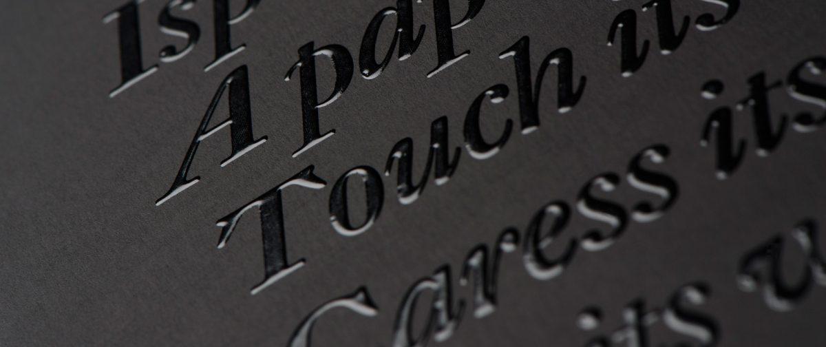 Cómo conseguir un efecto 'Premium' con las técnicas de impresión y acabados